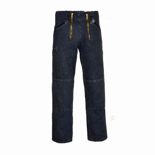 Zunfthose Jeans Saar, blue stonewashed,  Denim 14,5 oz